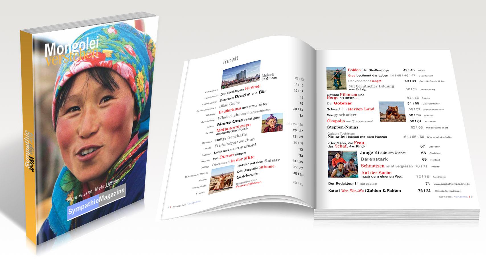 Das Sympathie-Magazin Mongolei